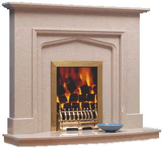 earl marble fireplace