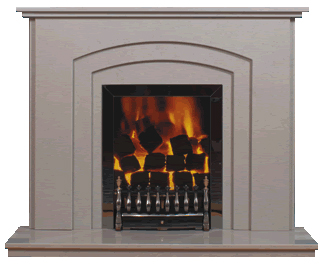 menphis marble fireplace