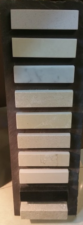 Marble and stone hearths made to size