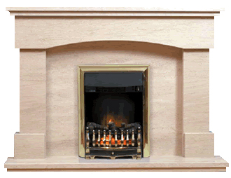 lyon marble fireplace
