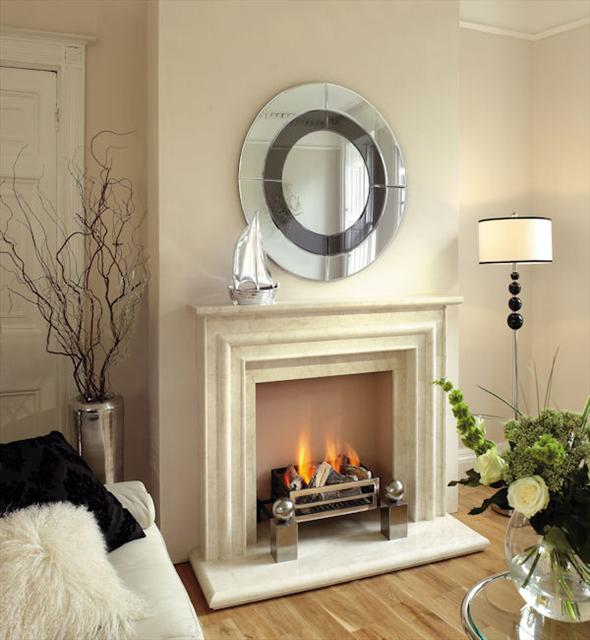 monticarlo marble fireplace
